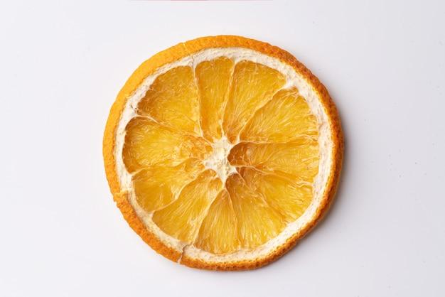 Getrocknete orangenscheibe