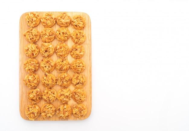 Getrockneter durian cracker