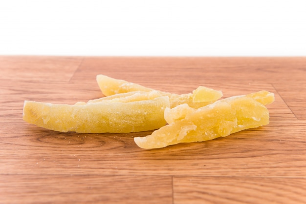 Getrockneter pfirsich