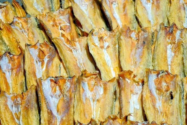 Getrocknetes fischfleisch