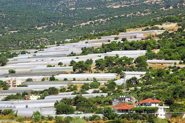 Gewächshäuser in der türkei