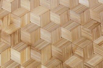 Gewebte Bambusbeschaffenheit