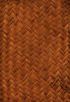 Gewebte bambusmattenstruktur