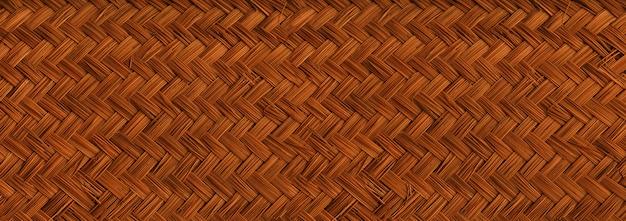 Gewebte leichte bambusnahaufnahme