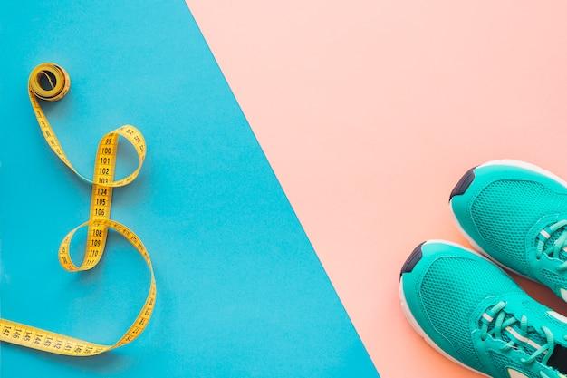 Gewichtsverlust zusammensetzung mit platz in der mitte