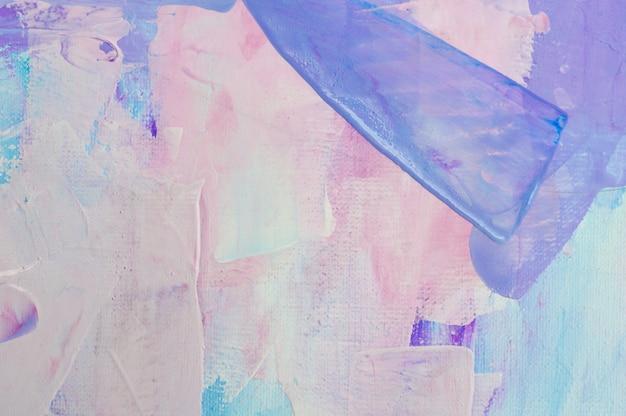 Gezeichnete acrylmalerei des hintergrundes der abstrakten kunst hand. pinselstriche bunte textur