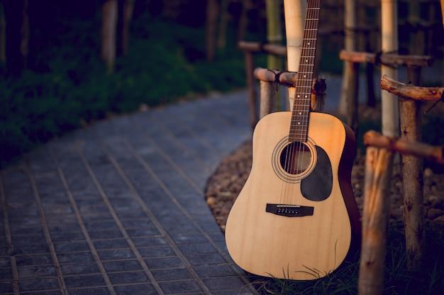 Gitarreninstrument von professionellen gitarristen musikinstrument