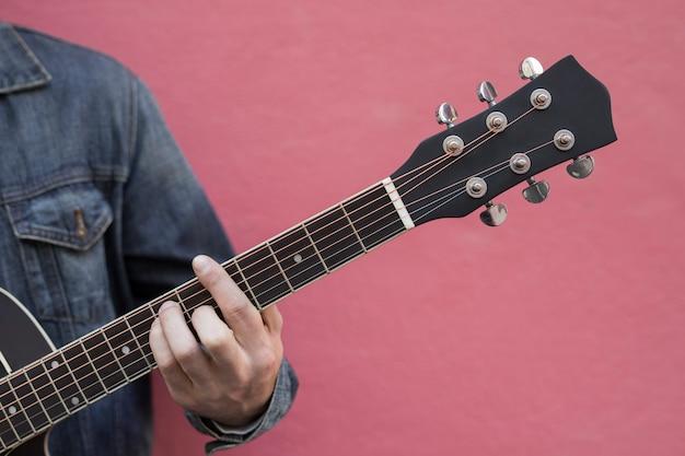 Gitarrenmusik im freien