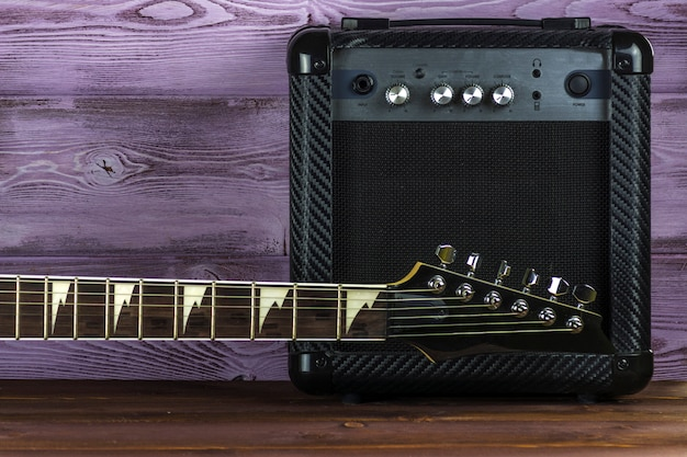 Gitarrenverstärker und e-gitarre