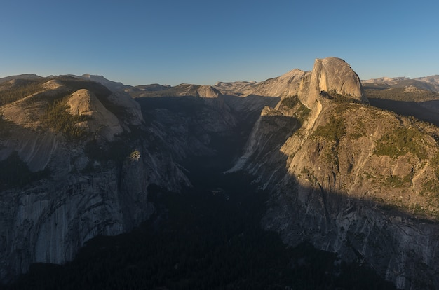 Glacier point, yosemite-nationalpark