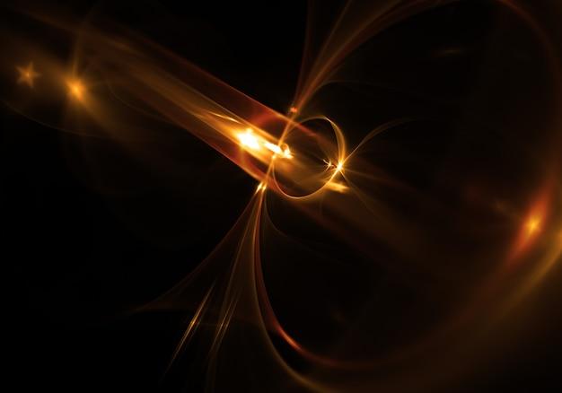 Glänzend lens flare effekt hintergrund