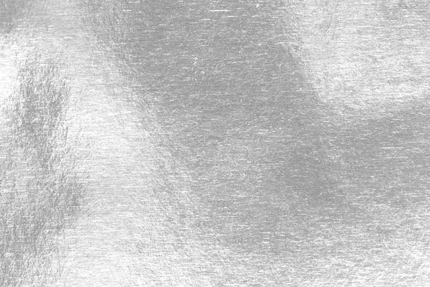 Glänzende blatt silberfolie