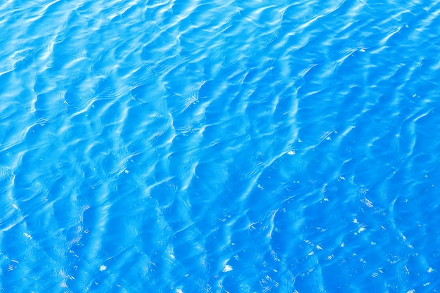 Glänzende blaue gewellte wasseroberflächen-kräuselungsoberfläche