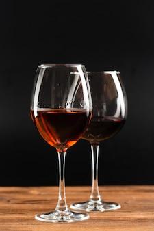 Glas cabernet sauvignon rotwein
