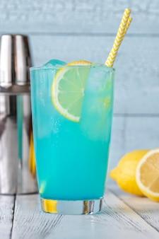 Glas elektrische limonade