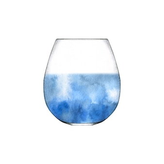 Glas kristallwasser