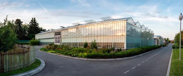 Glasgewächshaus pflanzende gewächshäuser