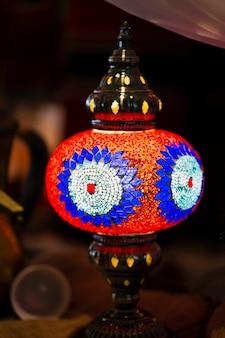 Glasmosaik tischlampe
