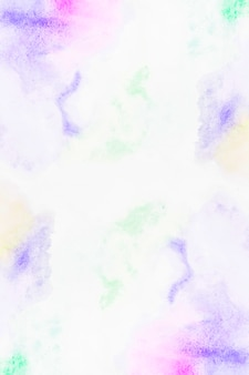Glatte striche aus bunten pigmenten