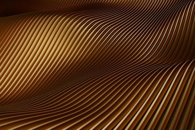 Glatter goldener strukturierter materialhintergrund