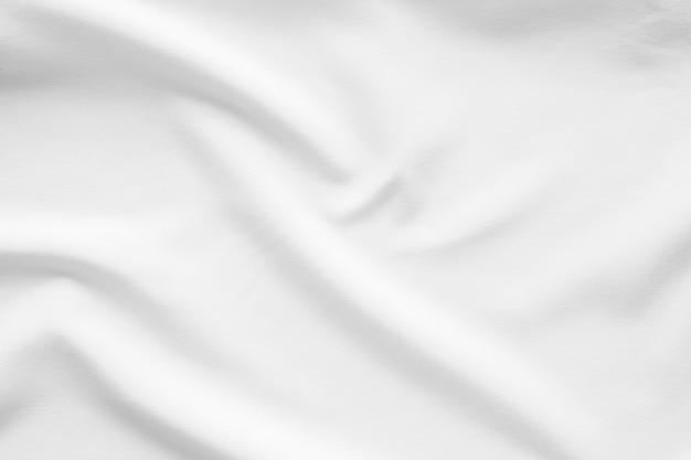 Glatter oberflächenhintergrund des weißen gewebes