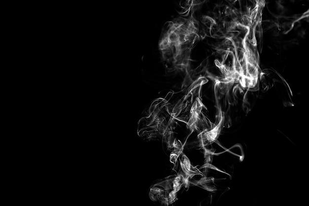 Glatter weißer rauch