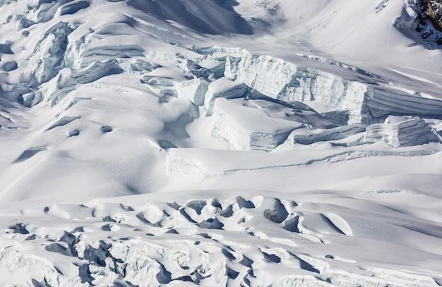 Gletscher in alaska, usa