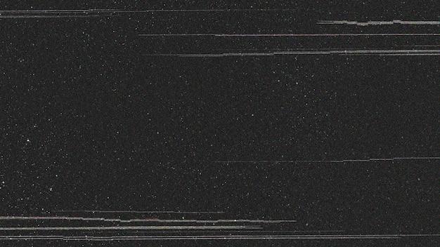 Glitch-effekt auf schwarzem hintergrund