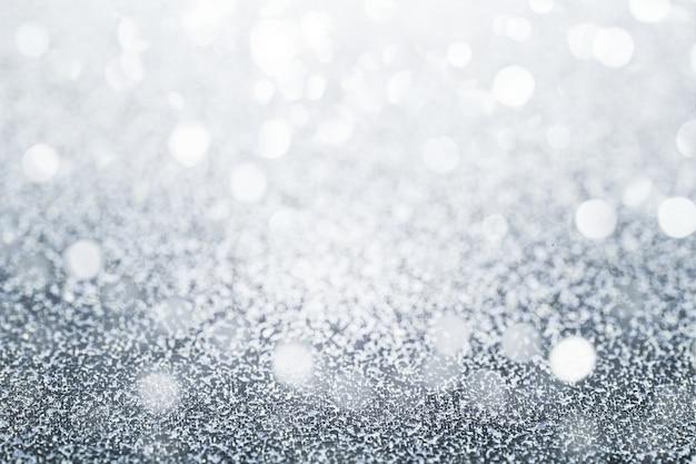 Glittery silberner hintergrund