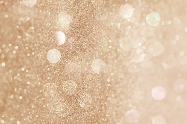 Glitzernde goldene bokeh-gemusterte hintergrundillustration