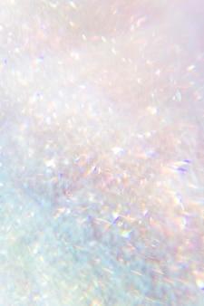 Glitzernder hintergrund mit rosa hologramm