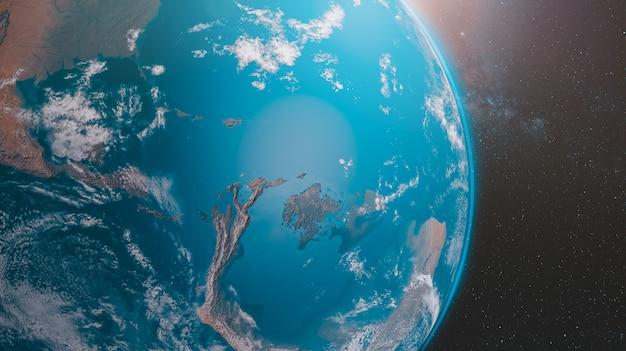 Globale erwärmung auf der erde