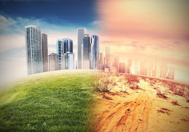 Globale erwärmung und das ende der zivilisation