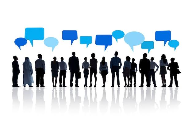 Globale geschäftskommunikation