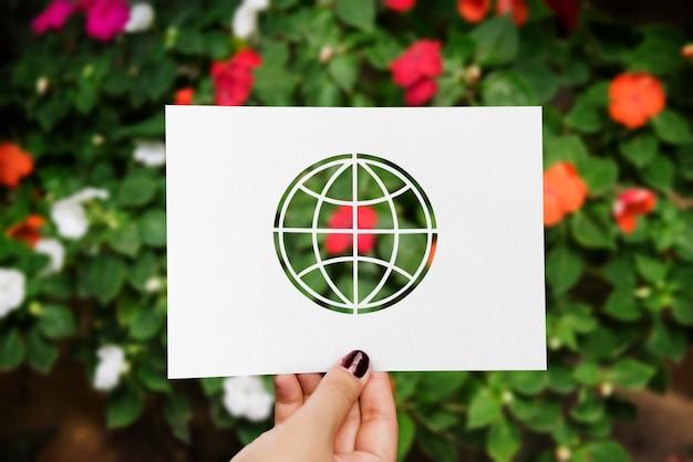 Globale umweltökologie naturgemeinschaft