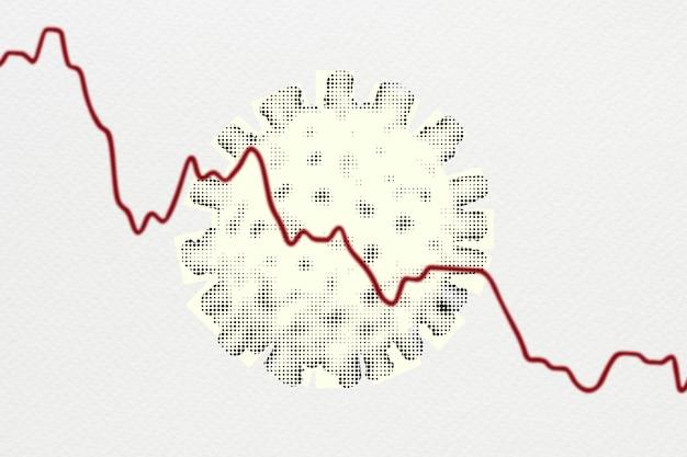 Globale wirtschaftliche auswirkungen aufgrund des hintergrunds der coronavirus-pandemie