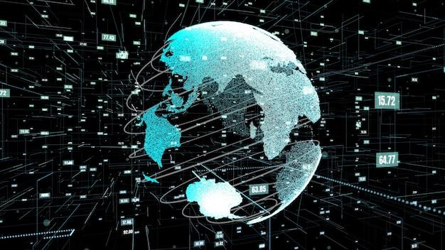 Globale zusammenfassung der datenwissenschaftstechnologie und computerprogrammierung