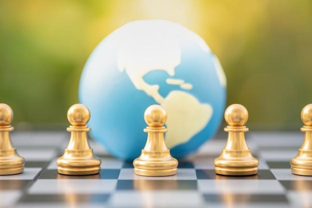 Globales geschäft und planung