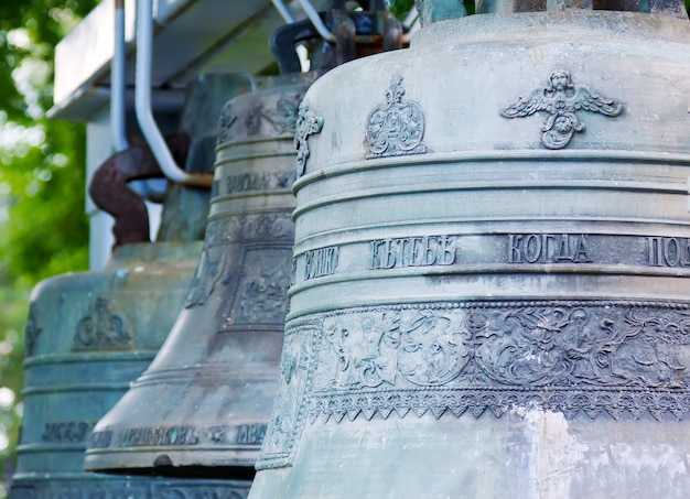 Glocken der himmelfahrt kathedrale bei jaroslawl