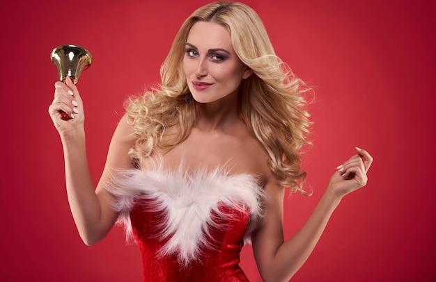 Glocken, die die weihnachtszeit ankündigen!
