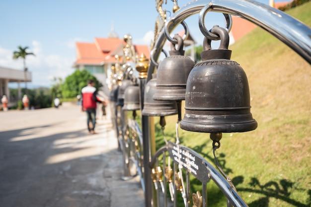 Glocken im thailand-tempel