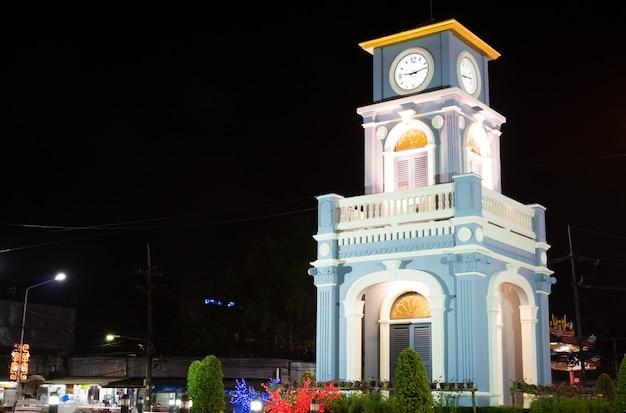 Glockenturm bei surin circle, phuket