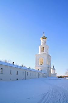 Glockenturm des alten orthodoxen priorats