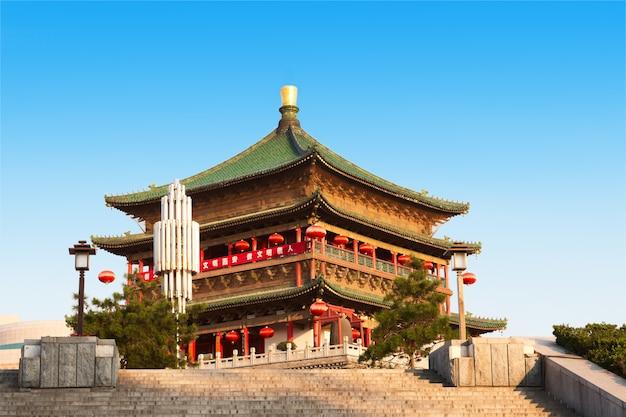 Glockenturm in xi'an, china