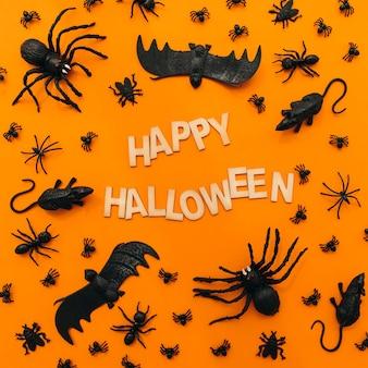 Glückliche halloween-dekoration
