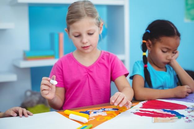 Glückliche kinder alle zeichnungsbilder