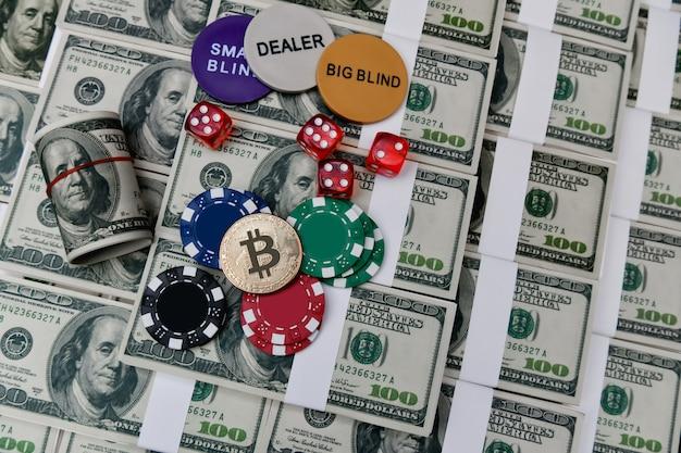 Glücksspielkonzepte. geschäftsleute spielen im casino