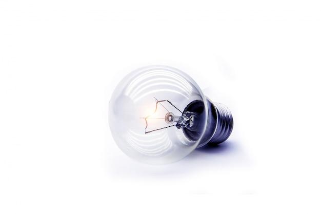 Glühbirne für kreative idee, brainstorming, inbetriebnahme und erfolgreich.