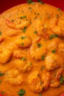 Goan garnelen oder shrimp curry oder zinga masala auch bekannt als kolambiãƒâ'ã'â kalwanãƒâ'ã'â oder tikhle