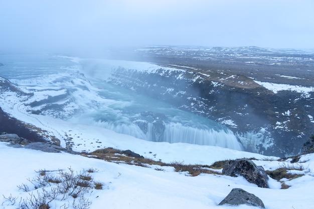 Godafoss island ist einer der spektakulärsten wasserfälle islands.